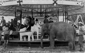 1928 Perry circus elephant Tommy