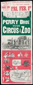 1929 Perry circus poster