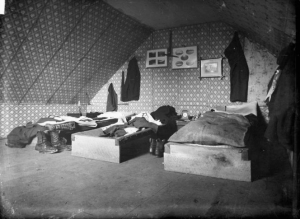 1883 bachelor's bedroom
