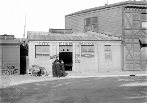 Fish market  late 1800's http://natlib.govt.nz/records/22804208