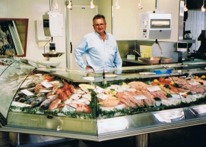 Tony Basile owner of Wellington Trawling and Sea Market